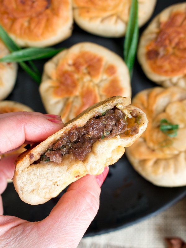 Spicy Pan Fried Beef Bao / https://www.hwcmagazine.com