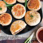 Spicy Pan Fried Beef Bao / https://www.hwcmagazine.com