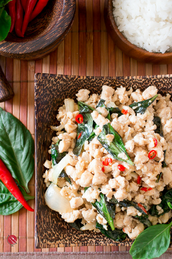 Spicy Holy Basil Chicken (Pad Krapow Gai) : https-::www.hwcmagazine.com