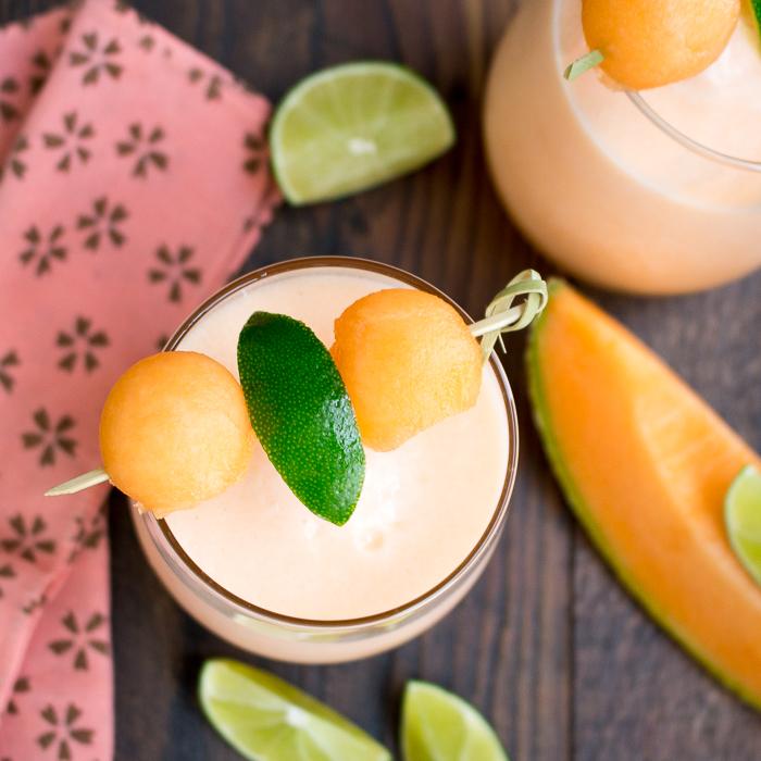 Cantaloupe Lime Agua Fresca/ https://www.hwcmagazine.com