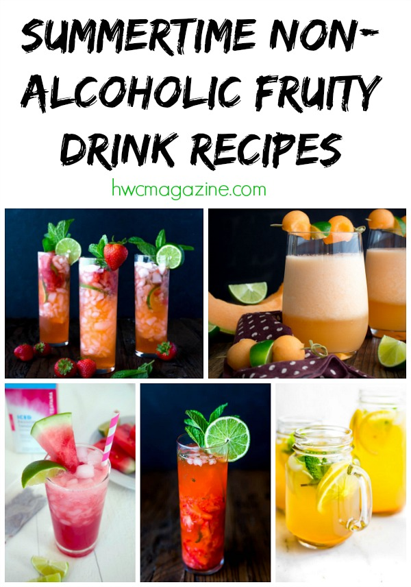 Summertime Non Alcoholic Fruity Drink Recipes Healthy World Cuisine