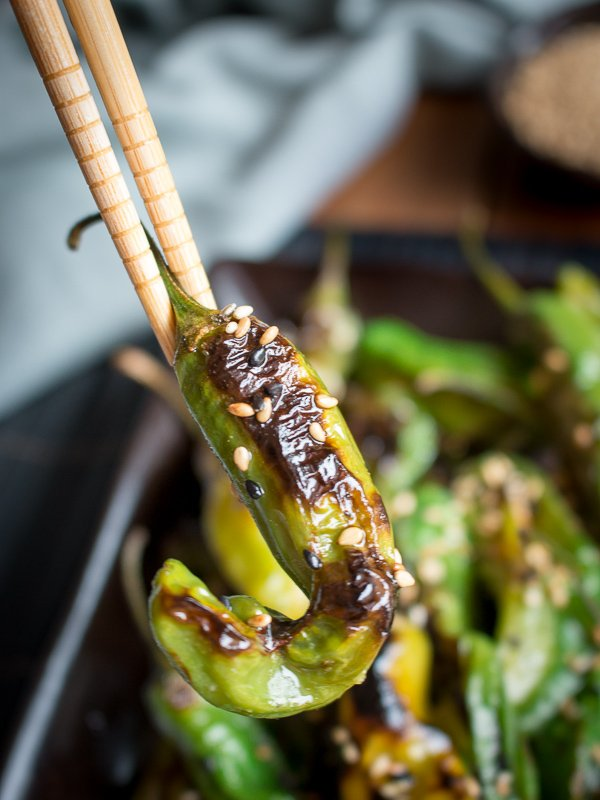 How to Cook Shishito Peppers on the Grill / https://www.hwcmagazine.com