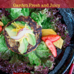 Low Carb Veggie Turkey Burger can be on your table in 20 minutes and is packed with fresh garden vegetables. Pop on over to check out the recipe. #backtoschool #turkey #lowcarb #easyrecipe / https://www.hwcmagazine.com