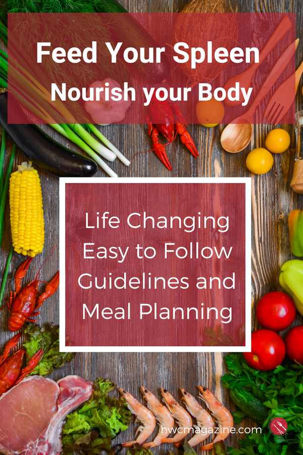 Feed Your Spleen : Nourish your Body the Traditional Chinese Medicine Way with life changing EASY tips, hacks and FREE Meal Planning. Click on over to grab your free meal plan now. #mealplanning #tcm #tradiionalchinesemedicine #spleendiet #spleenqi #healthy #recipes / https://www.hwcmagazine.com