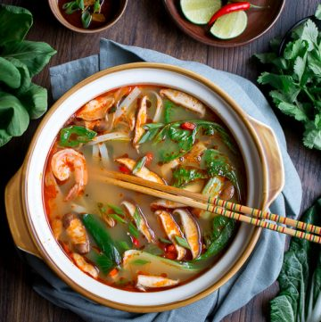 Simple Spicy Thai Hot Pot / https://www.hwcmagazine.com