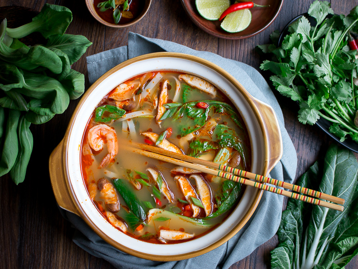 Simple Spicy Thai Hot Pot / https://www.hwcmagazine.com