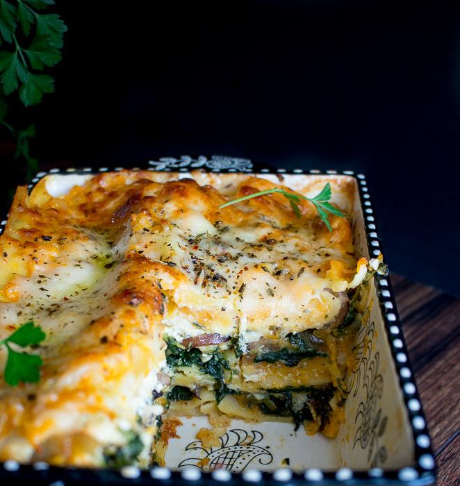 Butternut Squash Vegetarian Lasagna / https://www.hwcmagazine.com