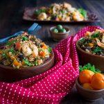 Chorizo and Shrimp Fried Rice / https://www.hwcmagazine.com