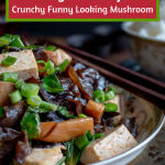 Wood Ear Mushroom Vegan Stir Fry is crunchy, spicy and easy to prepare Chinese recipe that is super healthy and delicious too. High in iron, cooling and good for nourishing your blood and much more. #vegan #woodearmushroom #chineserecipe #mushroom #vegan #stirfry #asianfood #healthyrecipes #easyrecipe #tcm #traditionalchinesemedicine / / https://www.hwcmagazine.com