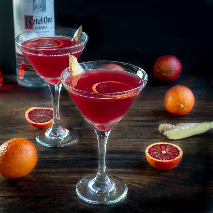 Blood Orange Ginger Spritz / https://www.hwcmagazine.com