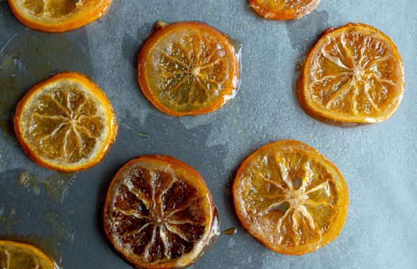 Honey Candied Meyer Lemon Slices / https://www.hwcmagazine.com