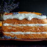 Icebox Lavender Lemon Angel Food Cake / https://www.hwcmagazine.com