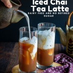 Easy Coconut Iced Chai Tea Latte / https://www.hwcmagazine.com