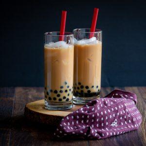 Homemade Cream Earl Grey Bubble Tea / https://www.hwcmagazine.com