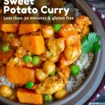 Ground Turkey Sweet Potato Curry / https://www,hwcmagazine.com