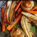 Balsamic Roasted Fennel and Carrots / https://www.hwcmagazine.com
