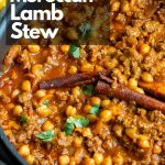 Easy Moroccan Ground Lamb Stew / https://www.hwcmagazine.com