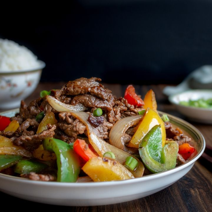 Chinese Beef and Pepper Stir Fry