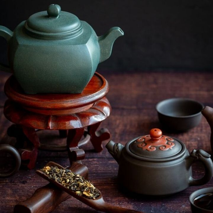 Chinese Traditional Medicine tea time