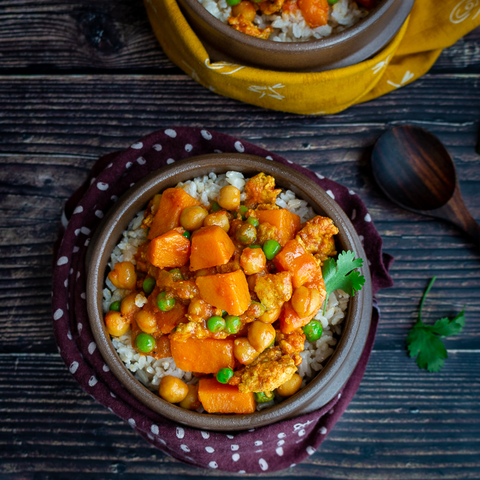 Ground Turkey Sweet Potato Curry
