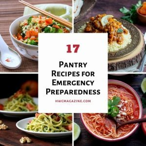 4 delicious meals using pantry staples.