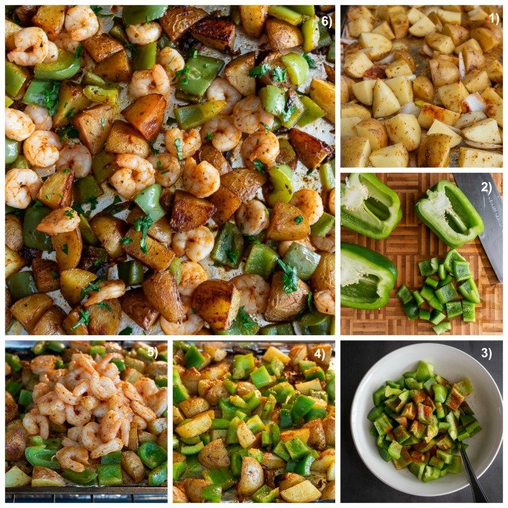 Step By Step Instructions, chop, toss, roast and eat!