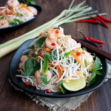 Vietnamese shrimp and vermicelli salad. Please click on the button below to go to the International Cuisine category page.