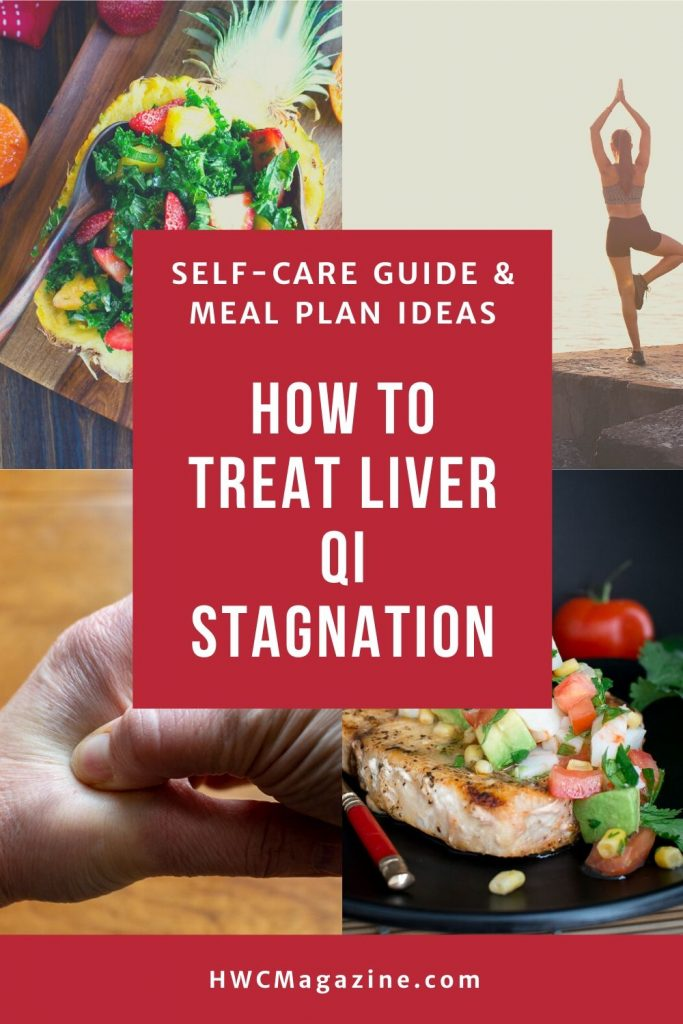 How to Treat Liver qi stagnation.