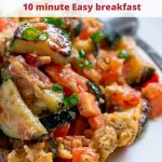 Easy Italian Scrambled Eggs