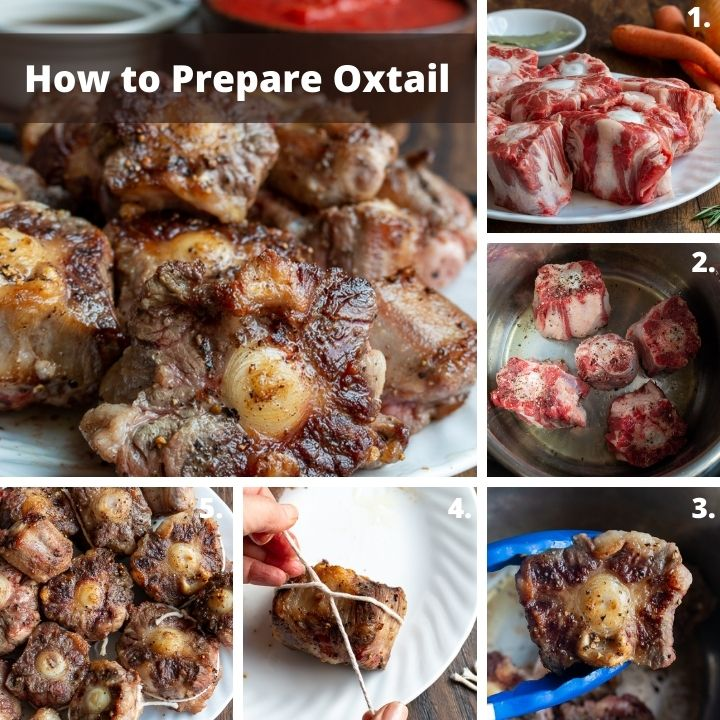 Step by Step how to prepare oxtail.